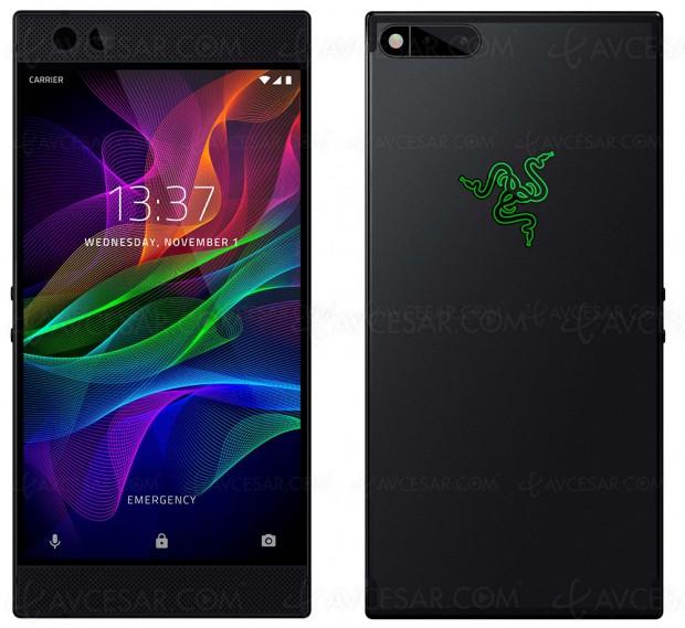 Razer Phone, smartphone avec affichage 120 Hz pour les joueurs