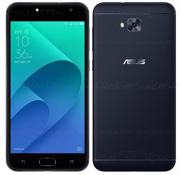 Smartphone Asus ZenFone Live Plus (ZB553KL), pour les amateurs de réseaux sociaux, bis