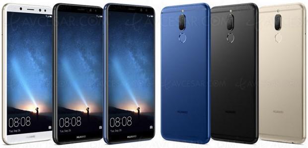 Smartphone Huawei Mate 10 Lite, double capteur APN/Webcam et écran FullView