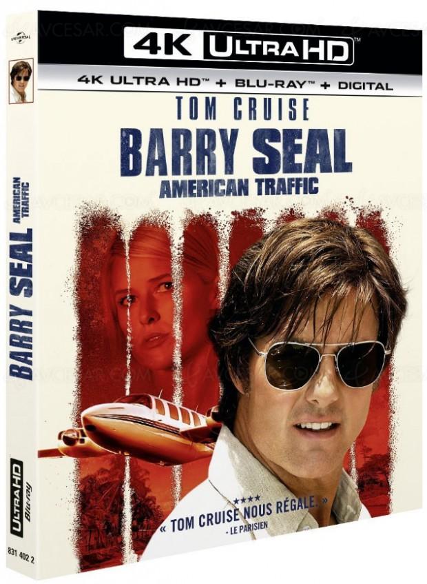 Barry Seal 4K Ultra HD Blu‑Ray : visuel et détail