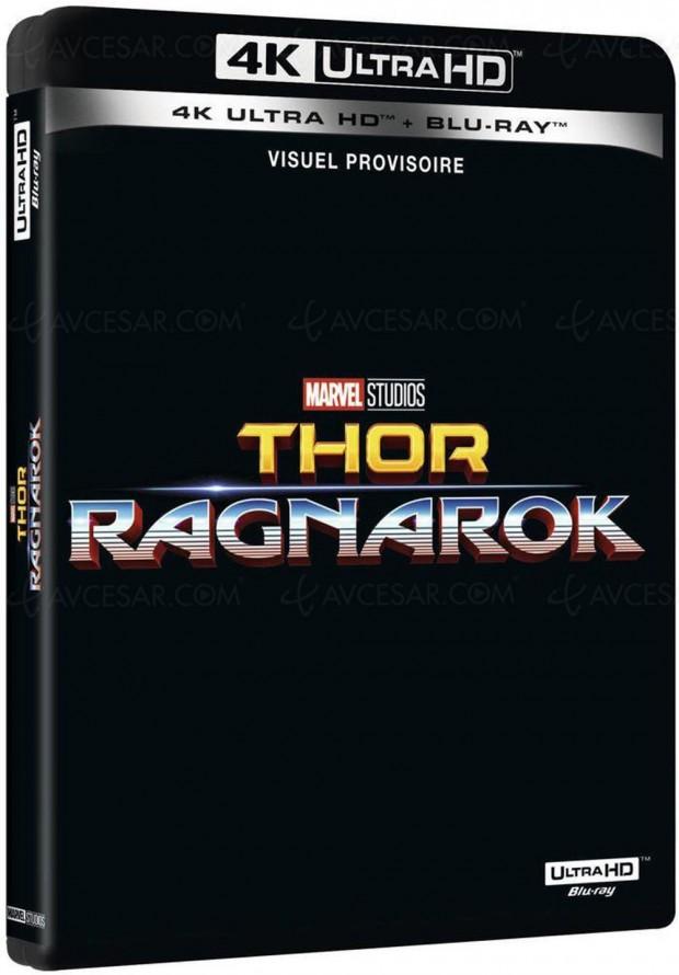 Le mystère Thor Ragnarok en 4K Ultra HD Blu-Ray