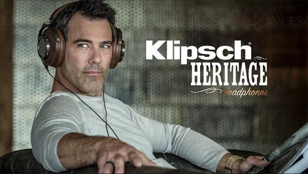 Casque Klipsch Heritage HP‑3, artisanat haut de gamme pour un hommage au fondateur Paul W. Klipsch