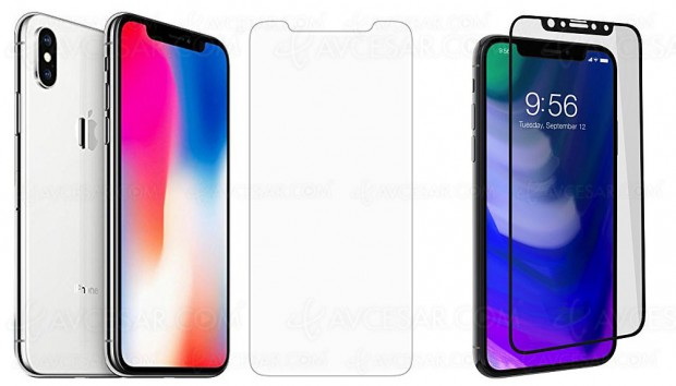 Protections InvisibleShield pour iPhone X, iPhone 8 et 8 Plus