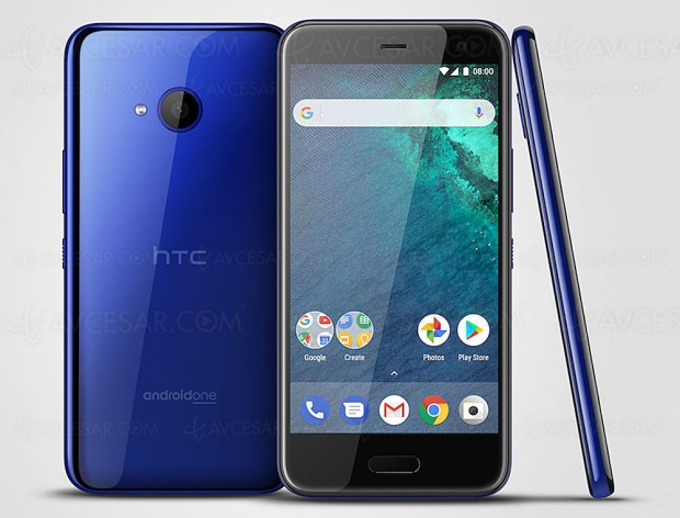 HTC U11 Life+, version mini du HTC U11 et Android One 8.0 Oreo