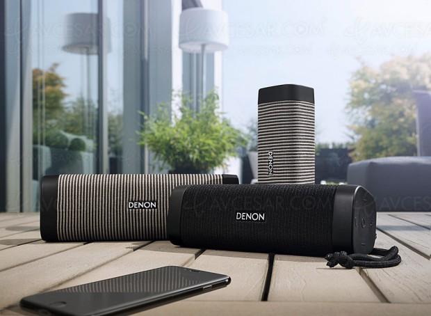 Denon Envaya DSB‑50BT, DSB‑150BT, DSB‑250BT, trois enceintes Bluetooth nomades