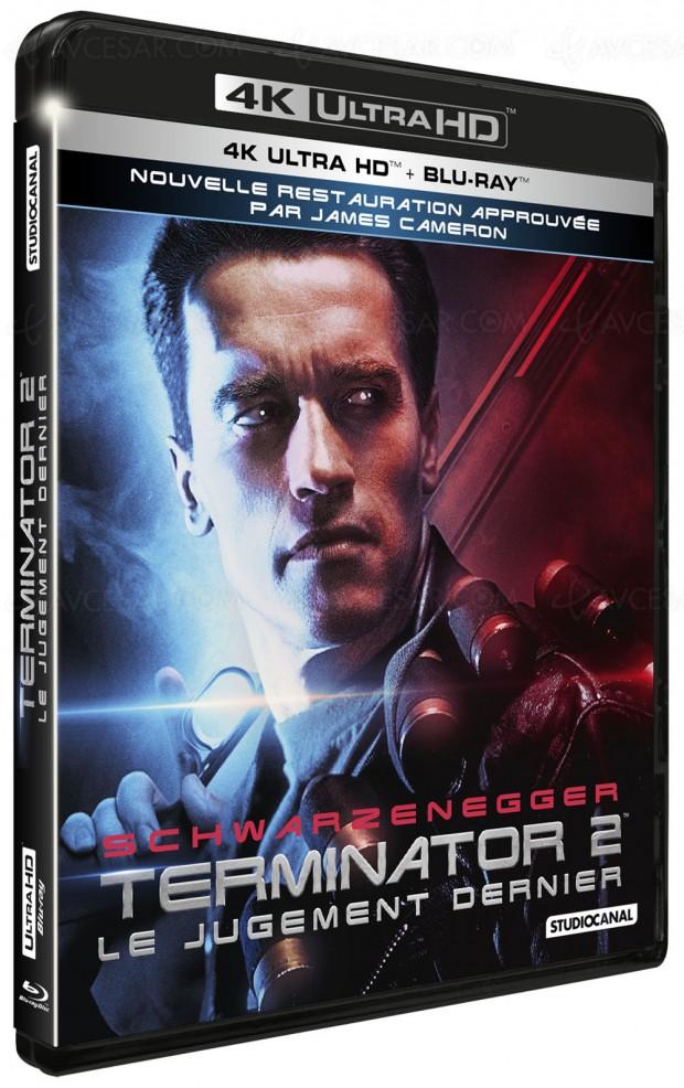 Terminator 2 4K Ultra HD Blu‑Ray, dispo le 5 décembre