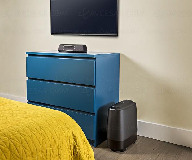 Polk Audio MagniFi Mini, barre sonore compacte Bluetooth, Wi‑Fi et Chromecast