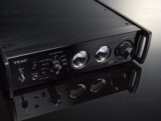 Teac AI-503, amplificateur Hi‑Fi Bluetooth, USB Dac, double convertisseur AK4490, Class D Ice Power, vu‑mètres…