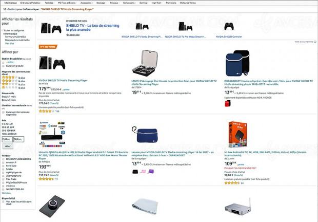 Soldes Amazon, box nVidia Shield TV proposée à -24%