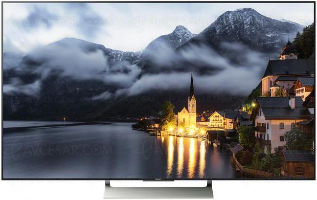 Test TV LCD Ultra HD Sony KD‑55XE9005, en ligne