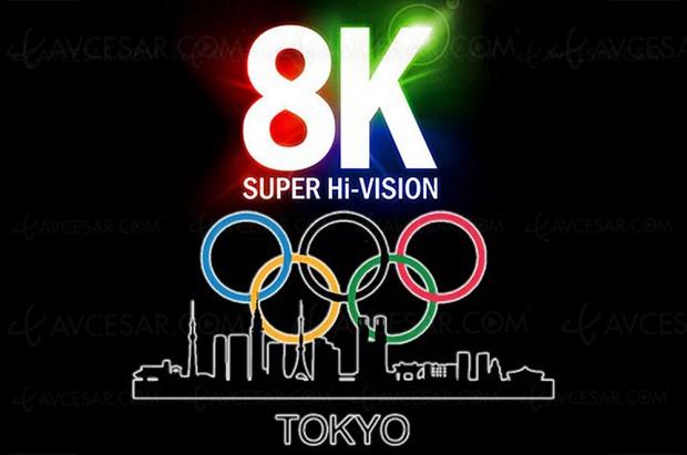 Premier tuner 8K prêt pour les Jeux Olympiques de Tokyo 2020