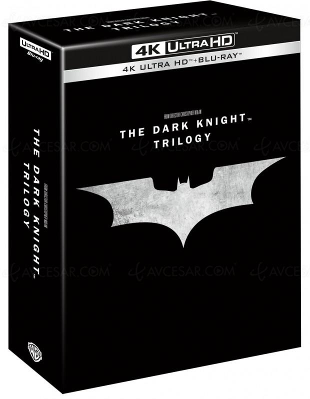 Tout Nolan ou presque pour la première fois en 4K Ultra HD Blu‑Ray
