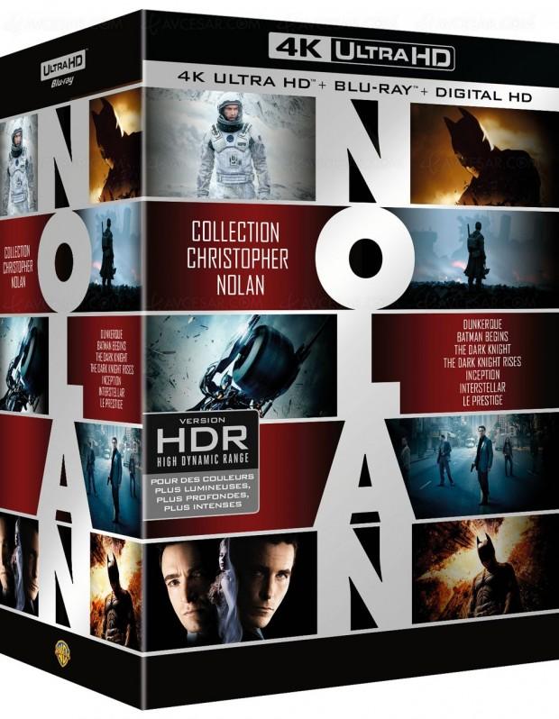 Tout Nolan ou presque pour la première fois en 4K Ultra HD Blu-Ray