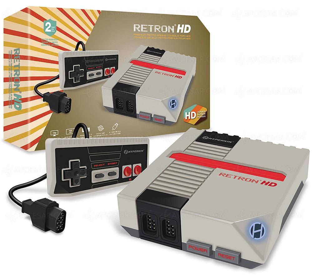 Consoles Hyperkin Nes Retron HD et GameBoy Smartboy : ressortez vos vieilles cartouches ! - AVCesar.com