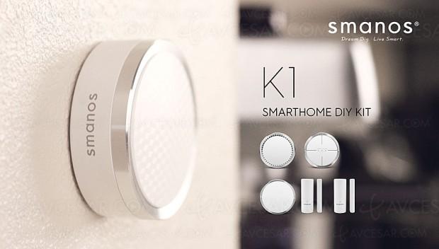 Kit de sécurité domotique Smanos DIY K1