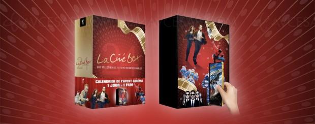 Calendrier de l'Avent Ciné Box chez Cultura : 24 jours, 24 DVD (soit 2,5 € l'unité)