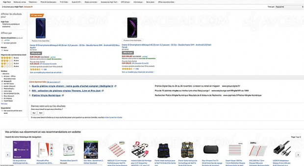 Black Friday smartphone Honor 8 à -39%, 244 € soit 155 € d'économie