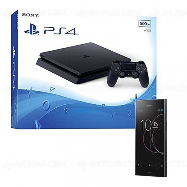 Black Friday Week, PS4 + smartphone Sony Xperia Z1 + 1 jeu + 1 an d'abonnement Amazon Music Unlimited à 599,99 €, soit 239 € d'économie