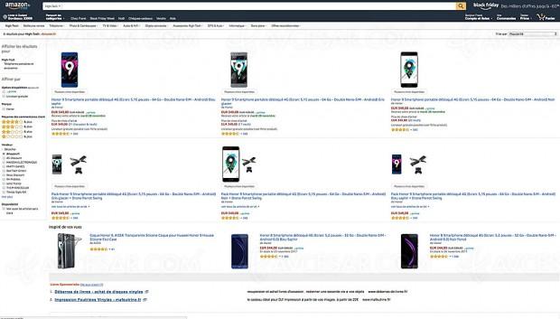 Black Friday smartphone Honor 9 à ‑19%, 349 € soit 80 € d'économie