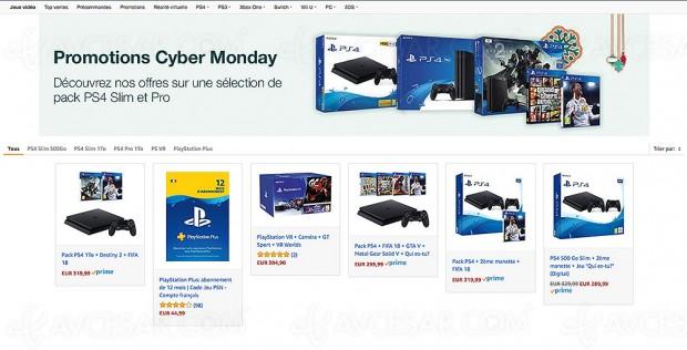 Cyber Monday, 6 offres PS4 exceptionnelles, jusqu'à 122,52 € d'économie