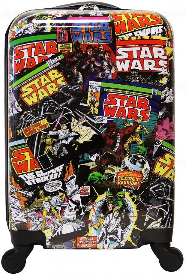 Cyber Monday, valise Star Wars, jusqu'à 46% d'économie