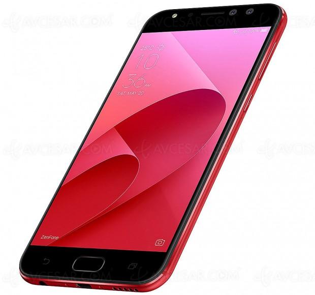 Cyber Monday, smartphone Asus ZenFone 4 à ‑25%, soit 100,25 € d'économie