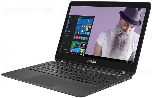 Cyber Monday, PC 13,3'' Asus Zenbook Flip UX360UAK‑DQ412T ultrabook hybride à ‑33%, soit 430 € d'économie