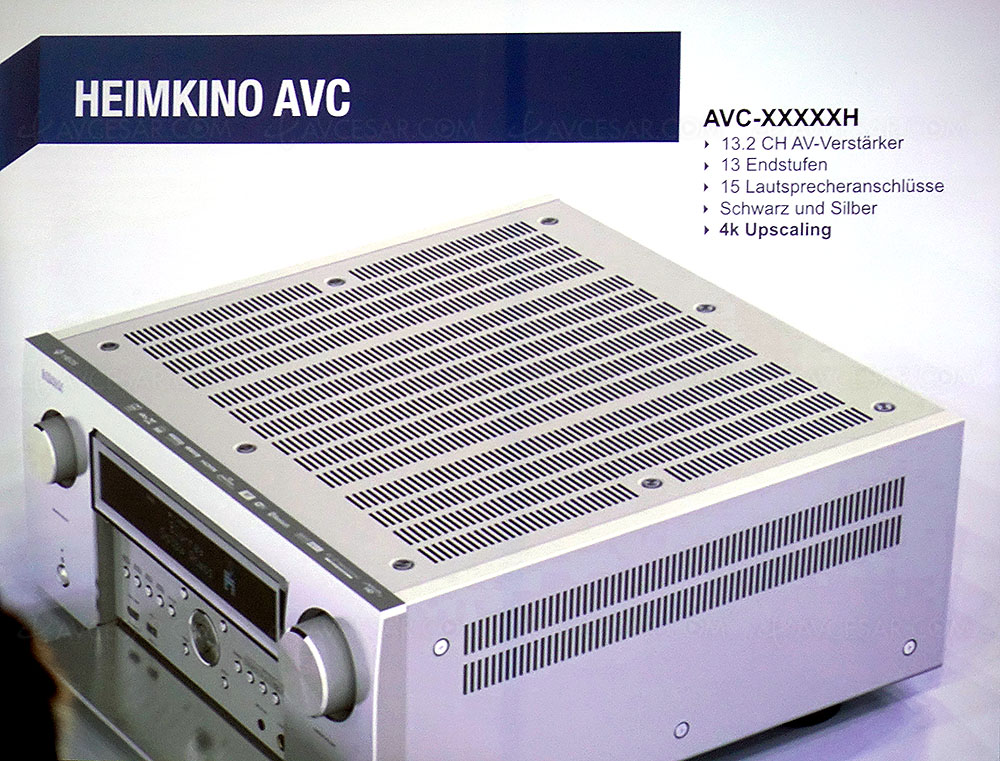 Denon AVC-X8500H, 13 2, HDMI 2 1, Upscaling Ultra HD/4K