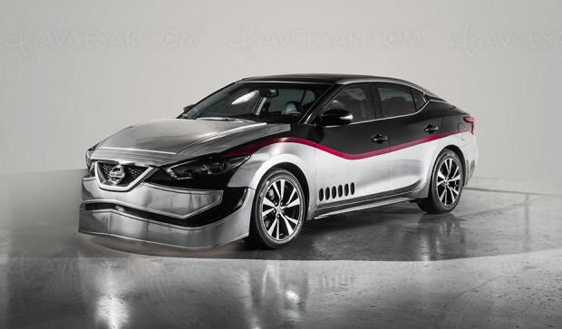 Nissan Maxima Star Wars, la Force de la berline