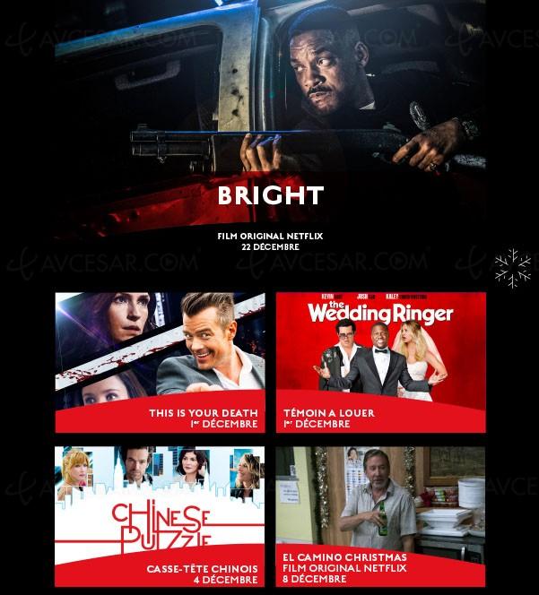 À voir en décembre sur Netflix…