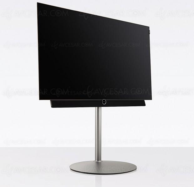 Test TV Oled Ultra HD Loewe Bild 4.55, en ligne