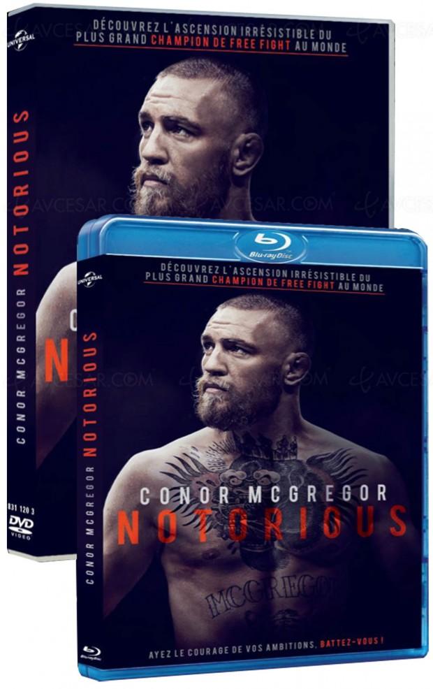 Le destin hors du commun de Conor McGregor à découvrir en Blu-Ray et DVD