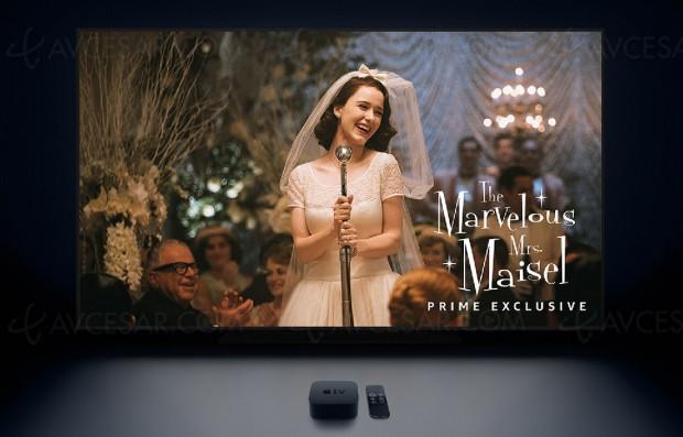 Amazon Prime Video (et ses contenus Ultra HD/4K) sur Apple TV (4K)