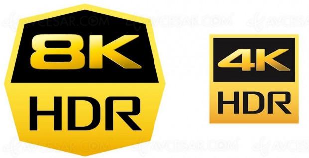 Sony dépose officiellement le logo‑type 8K HDR