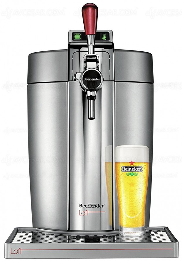 Rush de Noël Amazon, tireuse à bière Beertender Krups VB700E00 à ‑31%