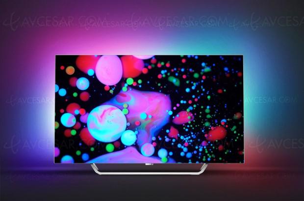 Test TV Oled Ultra HD Philips 55POS9002, en ligne