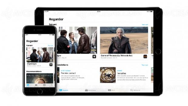 Application « TV » d'Apple disponible en France