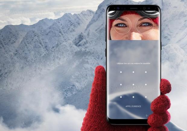 Reconnaissance d'iris améliorée pour les Samsung Galaxy S9/S9+
