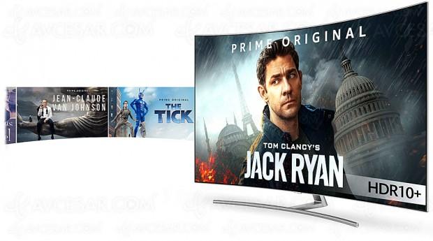 Premiers contenus HDR10+ sur Amazon Vidéo pour TV Samsung 2017