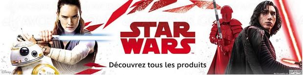 Rush de Noël Amazon Star Wars, sélection de jeux/jouets et vêtements jusqu'à ‑50%