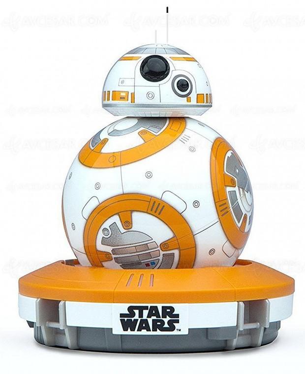 Rush de Noël Amazon Star Wars, robots R2‑D2/BB‑8 et peluche Porg jusqu'à ‑50%