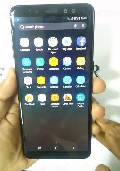 Samsung Galaxy A8+, trois déclinaisons en vue