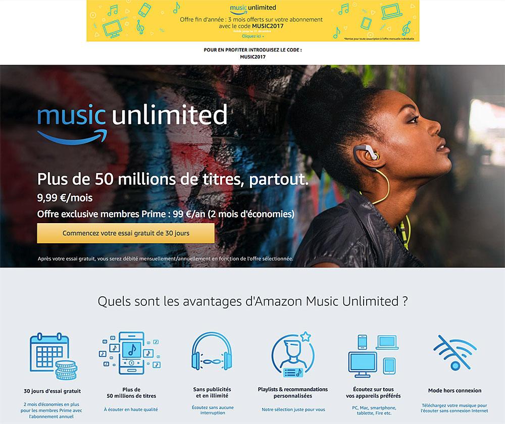 abonnement amazon music