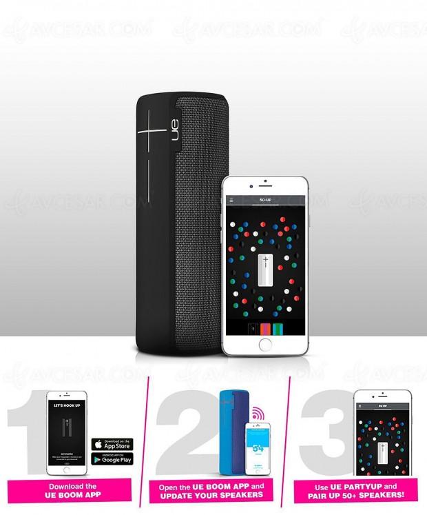 Rush de Noël, sélection enceinte Bluetooth UE Boom 2/Megaboom à -55%, soit 160 € d'économie