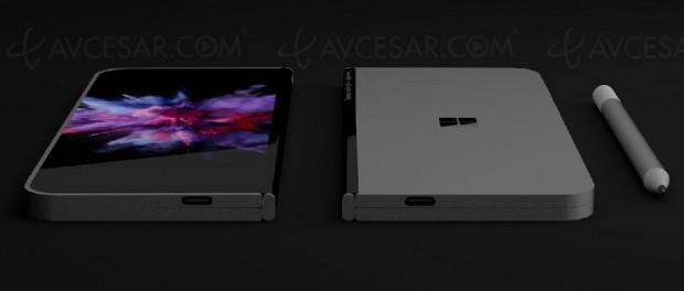 Smartphone pliable par Microsoft