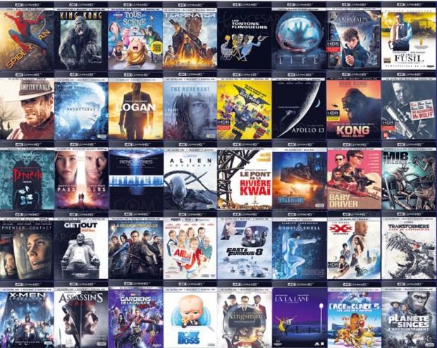 Et les meilleurs 4K Ultra HD Blu-Ray de l'année 2017 sont…