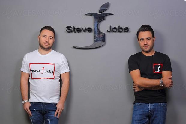 Des vêtements « Steve Jobs » et Apple mécontent