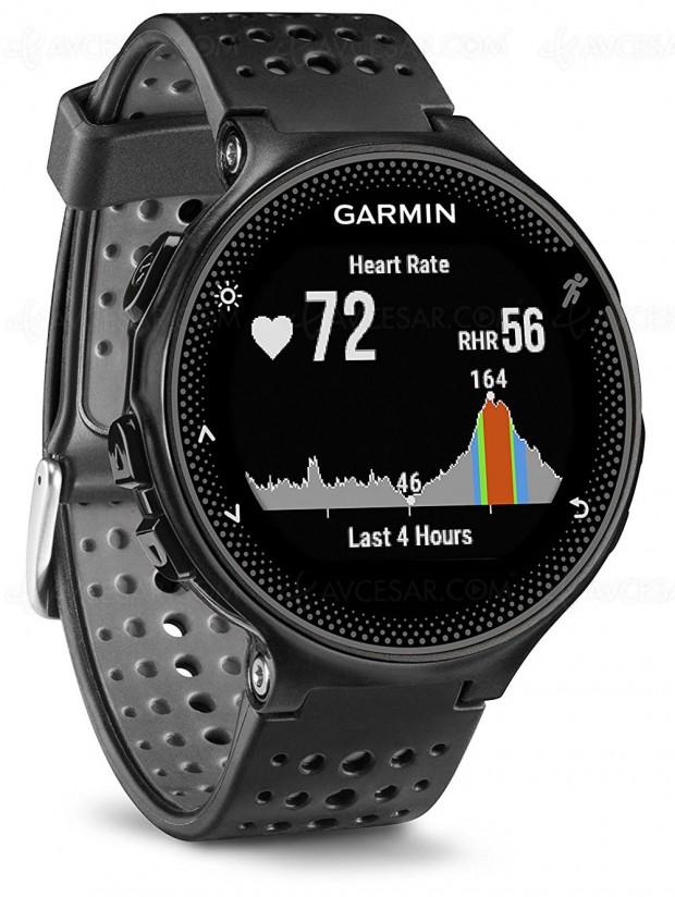 Offres de Noël, montre running GPS Garmin Forerunner 235 à -43%, soit 149,01 € d'économie