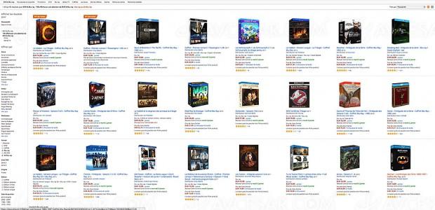 Offres de fêtes, 10 € de remise immédiate sur une sélection de coffrets 4K Ultra HD Blu‑Ray et Blu‑Ray
