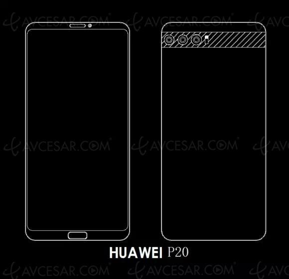 Huawei P20 : triple capteur photo pour le successeur du Huawei P10 ?